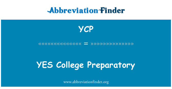YCP: YES College Preparatory