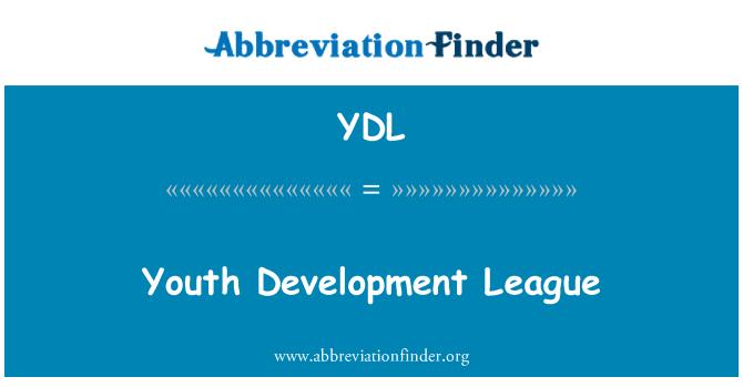 YDL: Youth Development League