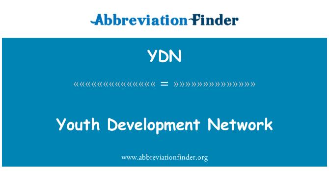 YDN: Youth Development Network