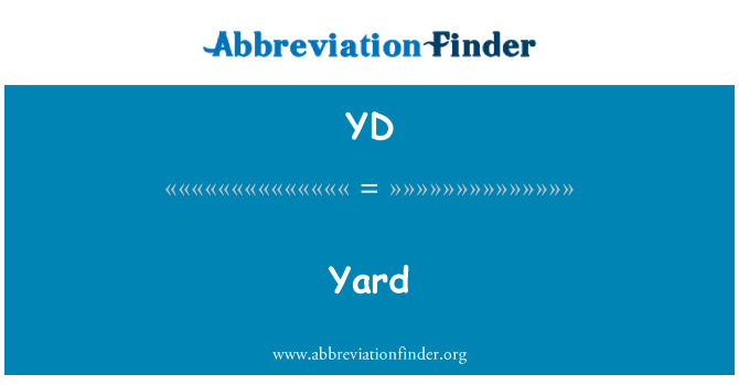 YD: 院子里