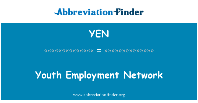 YEN: Youth Employment Network