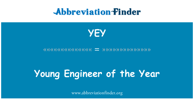 YEY: Young Engineer of the Year