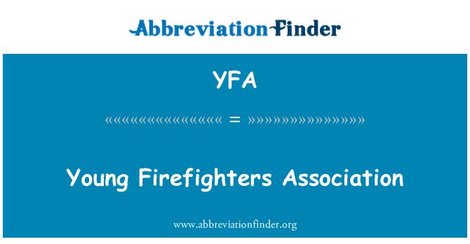YFA: 年轻的消防员协会