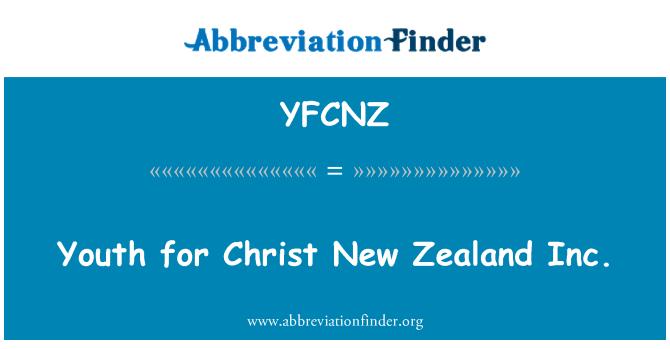YFCNZ: 青年为基督新西兰公司