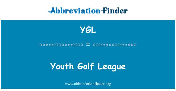 YGL: Youth Golf League