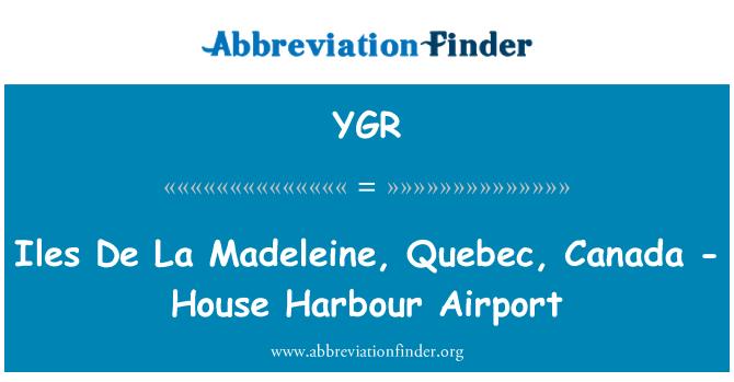 YGR: Iles De La Madeleine, Quebec, Canada - House Harbour Airport