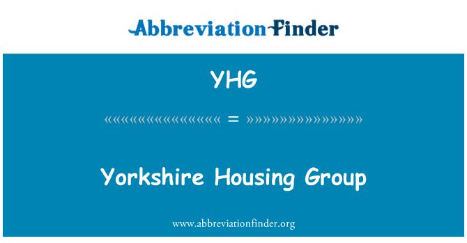 YHG: Yorkshire Housing Group