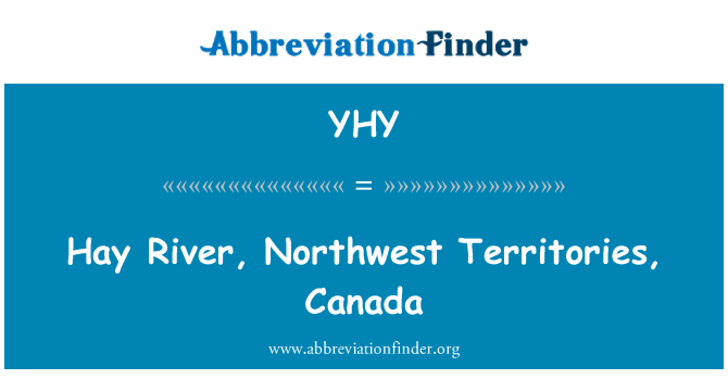 YHY: Hay River, Northwest Territories, Canada