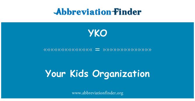 YKO: سازمان کودکان و نوجوانان