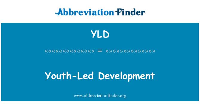 YLD: Youth-Led Development