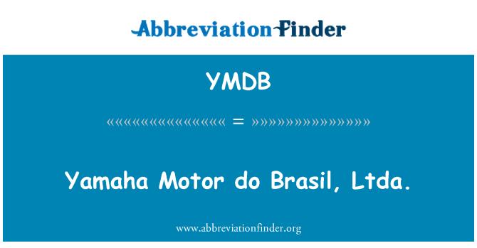 YMDB: Yamaha Motor do Brasil, Ltda.