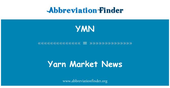 YMN: Yarn Market News