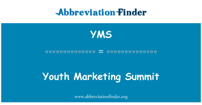 YMS: Youth Marketing Summit