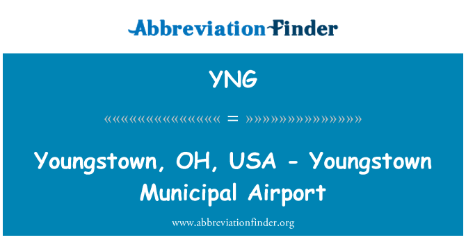 YNG: Youngstown, OH, USA - Youngstown Municipal Airport