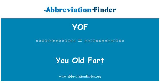 YOF: Viejo
