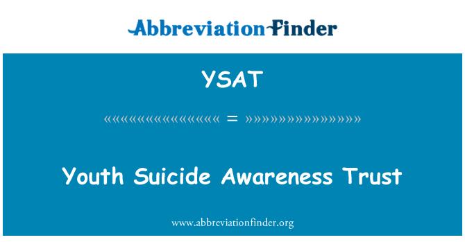 YSAT: Youth Suicide Awareness Trust