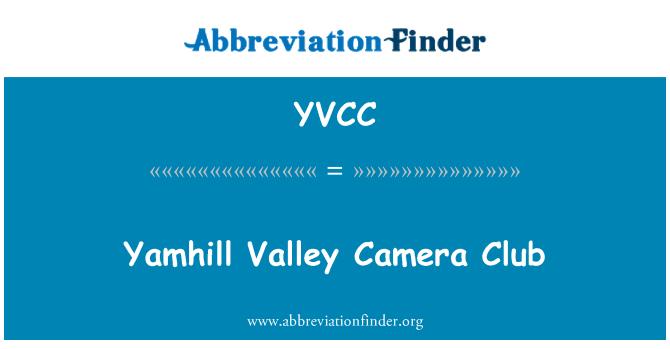 YVCC: Yamhill Valley Camera Club