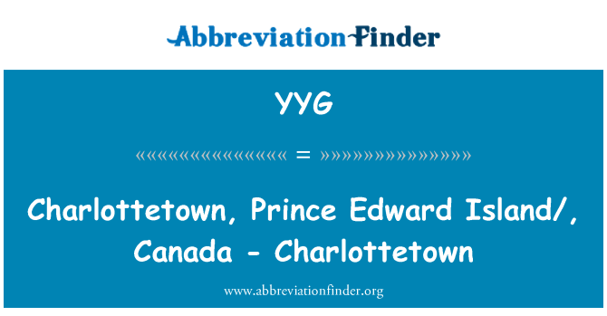 YYG: Charlottetown, Prince Edward Island/, Canada - Charlottetown