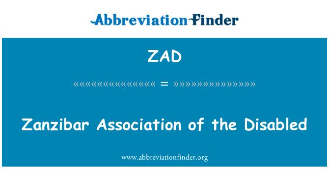 ZAD: Zanzibar Association of the Disabled