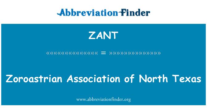 ZANT: Zoroastrian Association of North Texas
