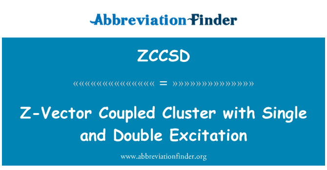 ZCCSD: Z-Vector Coupled Cluster with Single and Double Excitation