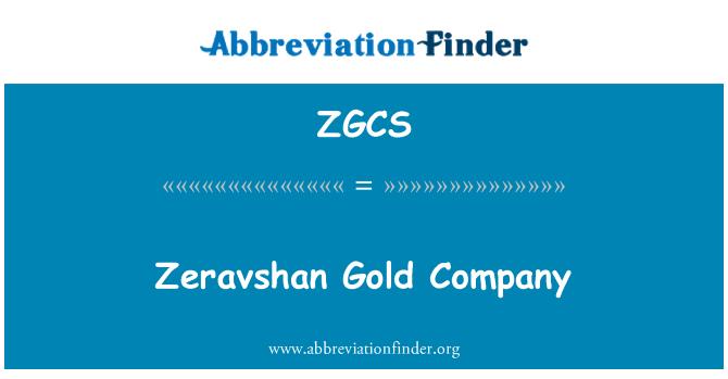ZGCS: Empresa Gold Zeravshan
