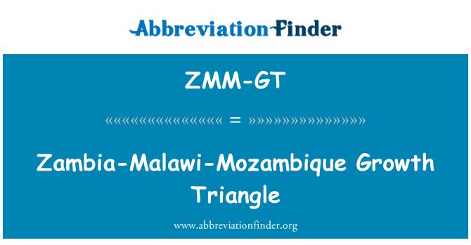 ZMM-GT: Zambia-Malawi-Mozambique Growth Triangle