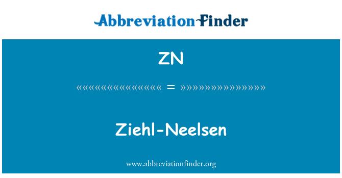 ZN: Ziehl-Neelsen
