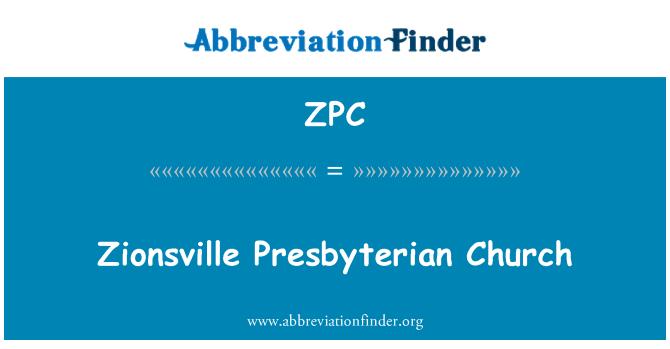 ZPC: Zionsville Presbyterian Church