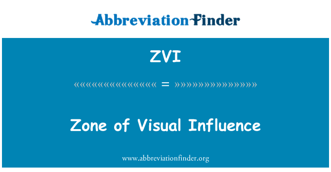ZVI: زون کی بصری اثر و رسوخ