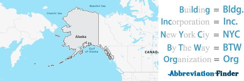 Alaska State Abbreviations