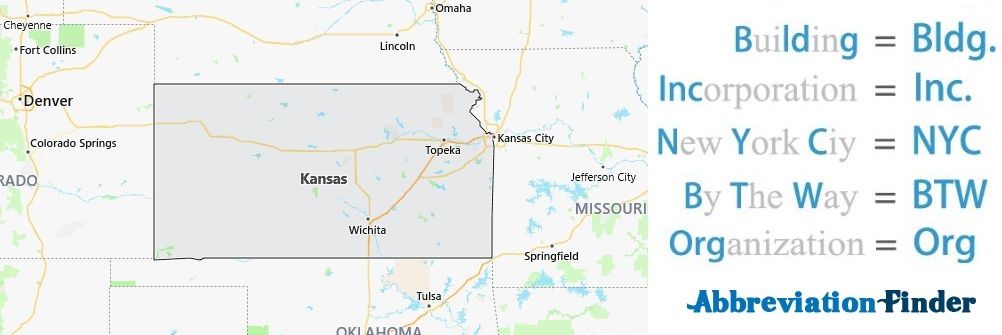 Kansas State Abbreviations