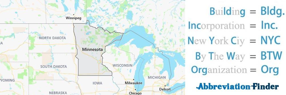 Minnesota State Abbreviations