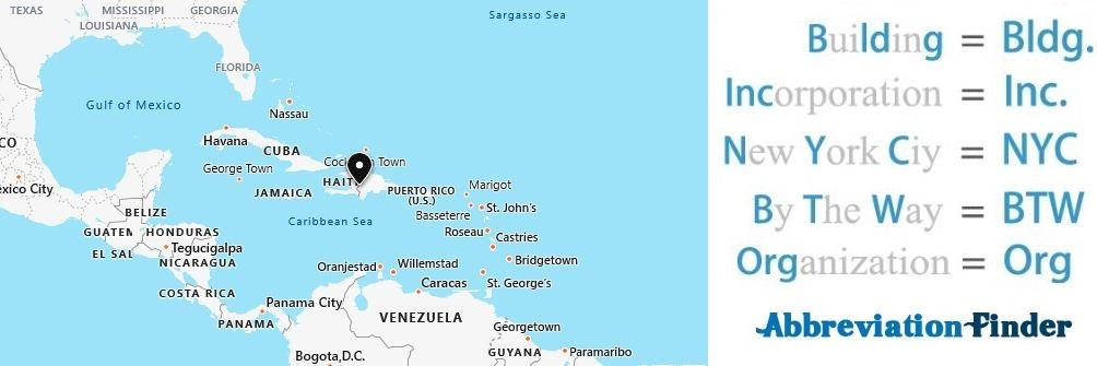 Caribbean Acronyms