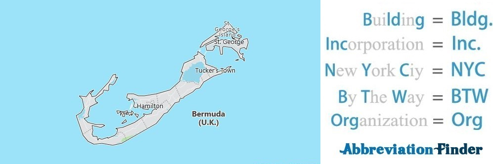 Bermuda and Acronyms