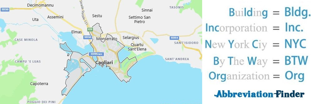Cagliari and Acronyms