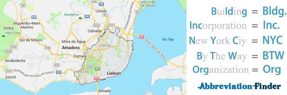 Lisbon and Acronyms