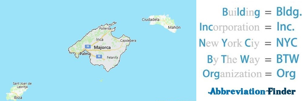 Mallorca and Acronyms