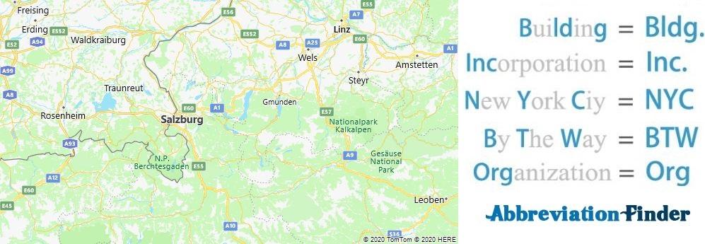Salzburg and Acronyms
