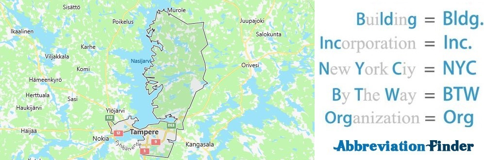 Tampere and Acronyms
