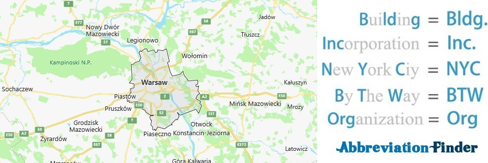 Warsaw and Acronyms